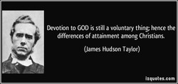 Devotion to GOD is still a voluntary thing; hence the 