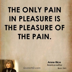 THE ONLY PAIN 