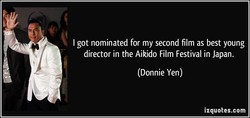 I got nominated for my second film as best young 