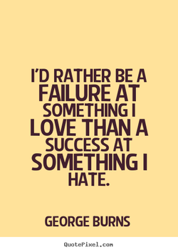 I'D RATHER BE A 