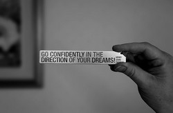 GO CONFIDENTLY IN THE 