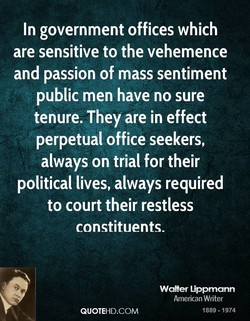 In government offices which 