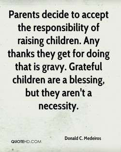 Parents decide to accept 