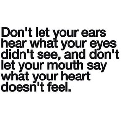 Don't let vour ears 