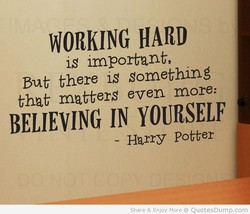WORKING HARD 
