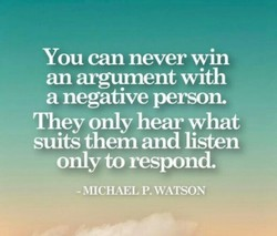 You can never win 