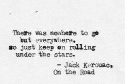 mere was nowhere to go 
