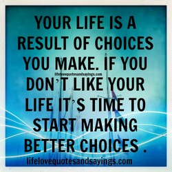 YOUR LIFE IS A 