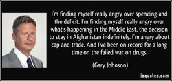 I'm finding myself really angry over spending and 