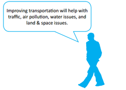 Improving transportation will help with 