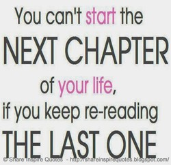 You can't start the 