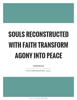 SOULS RECONSTRUCTED 