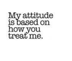 My attitude 