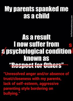 MY parents spanked me 