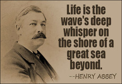 Life is the 