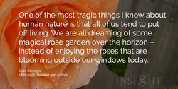 One ofåhe most tragic things I know about 