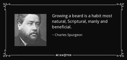 Growing a beard is a habit most 