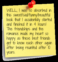 WELL, I was so absorbed in 