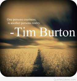 One persons craziness, 