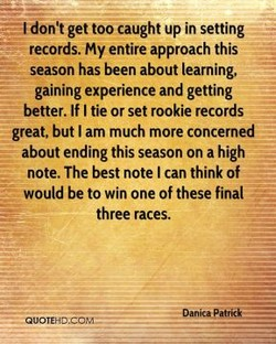 don't get too caught up in setting 