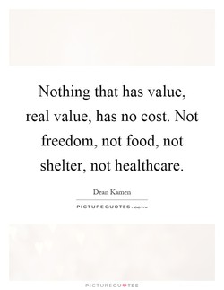 Nothing that has value, 