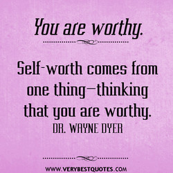 Hou are worthy. 