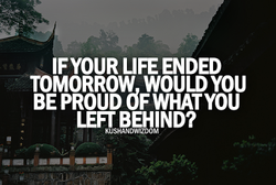 IFYOUR LIFE ENDED 