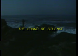 THE SbUND OF SILENCE