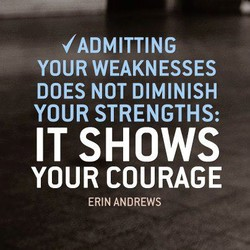 YOUR WEAKNESSES 