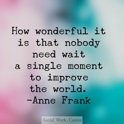 How wonderful it 
