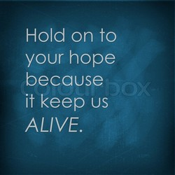 Hold on to 
