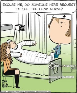 EXCUSE ME, DID SOMEONE HERE REQUEST 