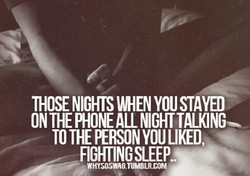 THOSE NIGHTS UMENYOUSTAYED 