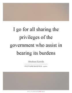 I go for all sharing the 