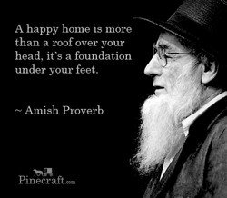 A happy home is more 