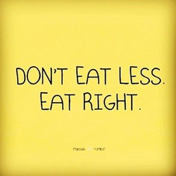 DON'T EAT cess 