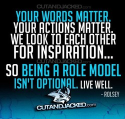 YOUR WORDS MATTER. 