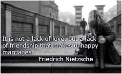 I is not a lack o 'love, b ta ack 