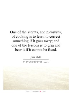 One of the secrets, and pleasures, 