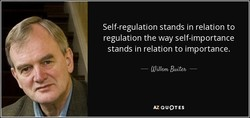 Self-regulation stands in relation to 
