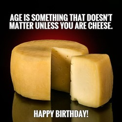 AGE IS SOMETHING THAT DOESN'T 