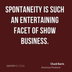 SPONTANEITY IS SUCH 
