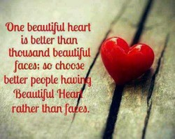One beautiful heart