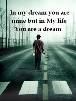 In my dream you are 