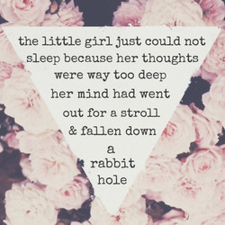 the little girl just could not 