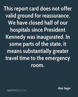 This report card does not offer 