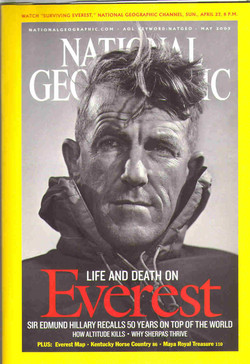 -SUEVTViNG EVEREST,- NATIONAL GEOGRAPHIC CHANNEL, suN., APRIL 8 P.M. 