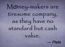 MOney-makers are 