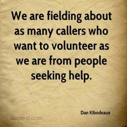 We are fielding about 
