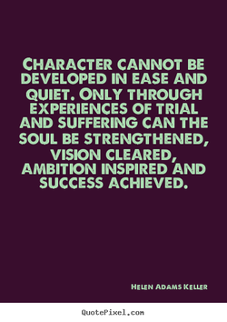 CHARACTER CANNOT BE 